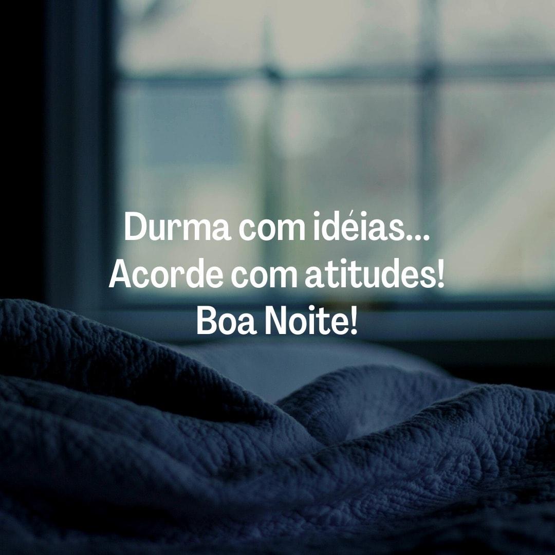 Durma com idéias...